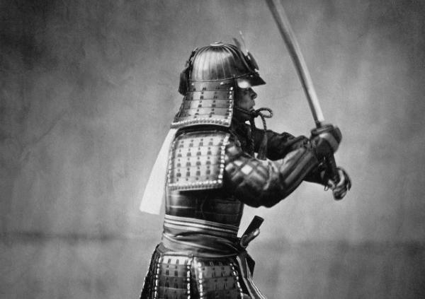 侍における武士道