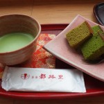 茶道の抹茶とお菓子