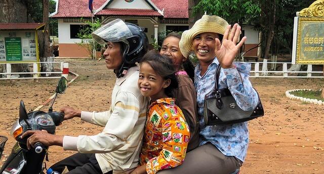 アジア、家族、結びつき、つながり