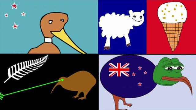 ニュージーランド国旗落選案