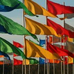 カラフルな国旗