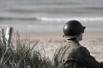 戦場の兵士