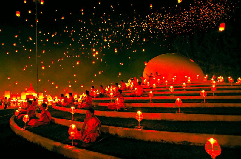 仏教徒の坊さん