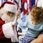 サンタクロースと子供
