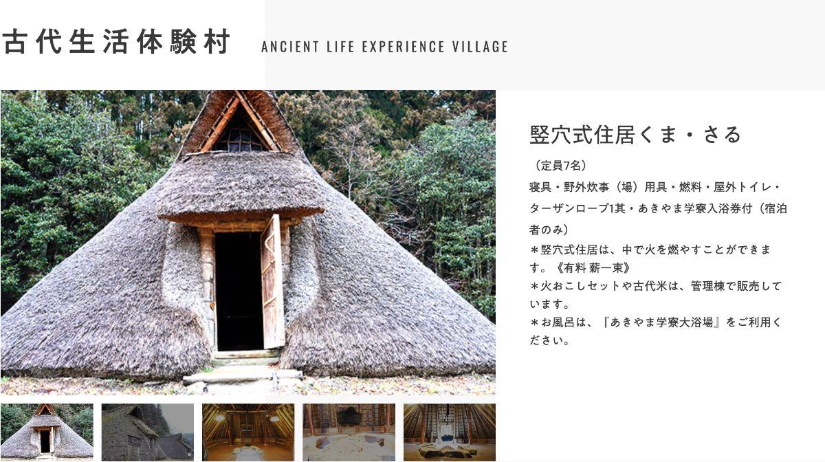 竪穴式住居の種類
