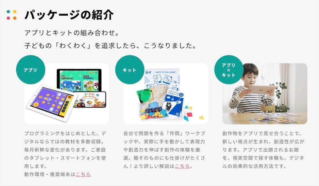 WonderBox-アプリ、キット