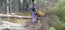 林業における木材伐採専用兵器ウッドチョッパーが想像していたよりも遥かにすごかった